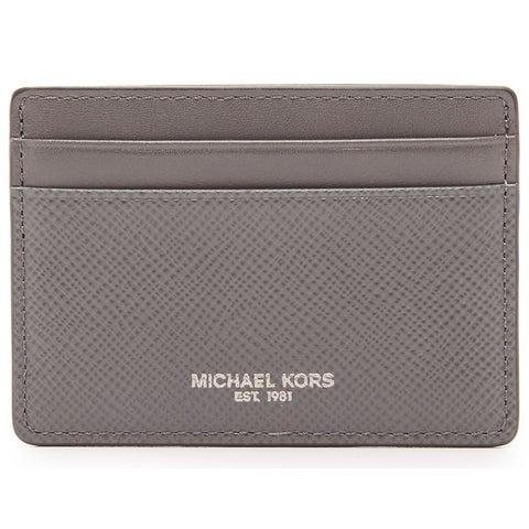Michael Kors Harrison Grey Card Case