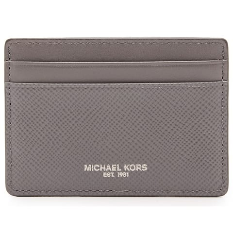 Michael Kors Harrison Grey Card Case