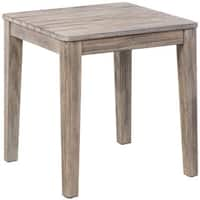 Cornwall Natural Wood Weather-resistant End Table