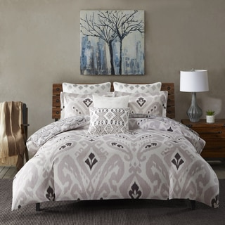 INK+IVY Sasha Purple Cotton 3-Piece Comforter Mini Set