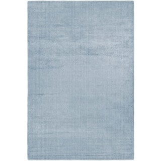 Couristan Royals Linea Ice Blue Viscose Area Rug (7'10 x 10'10)