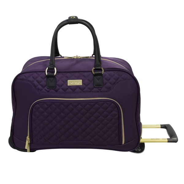 37d7807e9d8 Shop Kensie Fashion 19-inch Rolling Carry-on Duffel Bag - Free ...