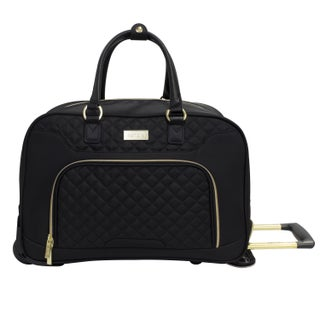Kensie Fashion 19-inch Rolling Carry-on Duffel Bag (2 options available)