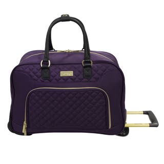 Kensie Fashion 19-inch Rolling Carry-on Duffel Bag|https://ak1.ostkcdn.com/images/products/14418257/P20986080.jpg?impolicy=medium