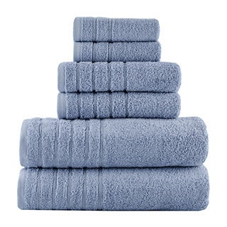 Vanessa 100% Turkish Combed Cotton 6-Piece Towel Set