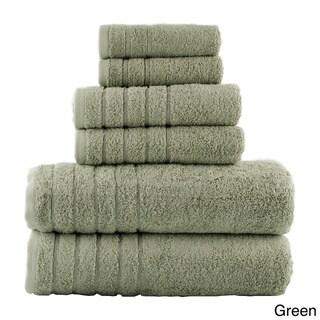 Vanessa 100% Turkish Combed Cotton 6-Piece Towel Set