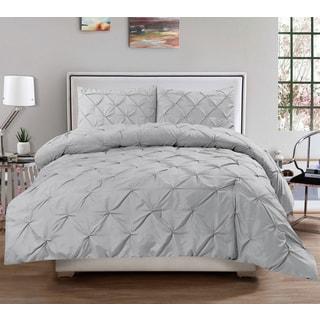 Hudson Pintuck Comforter 3 Piece Set