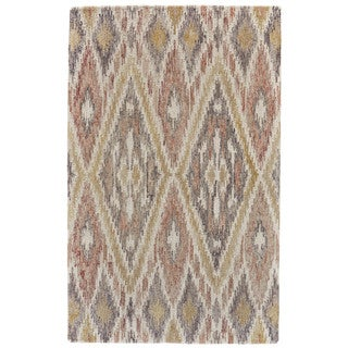 Grand Bazaar Pink / Multi Tufted Dimat Rug (9' 6 x 13' 6)