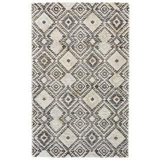 Grand Bazaar Gray / Pastel Tufted Dimat Rug (9' 6 x 13' 6)