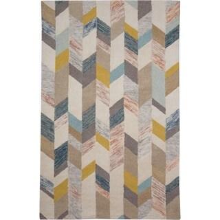 """Grand Bazaar Binada Gray/ Gold Area Rug (9'6"""" x 13'6"""") - 9'6"""" x 13'6"""""""