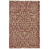 "Grand Bazaar Trudeau Ruby Area Rug (9'6"" x 13'6"") - 9'6"" x 13'6"""