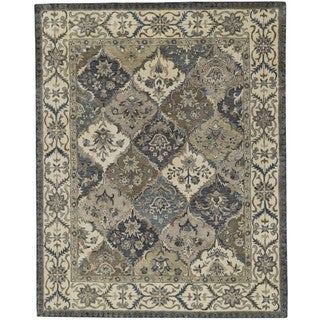 Grand Bazaar Multi Tufted Botticino Rug (9' 6 x 13' 6)