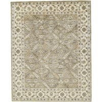 "Grand Bazaar Botticino Sage Area Rug (9'6"" x 13'6"") - 9'6"" x 13'6"""