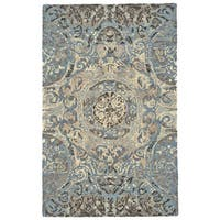 "Grand Bazaar Amreli Twilight Area Rug (9'6"" x 13'6"") - 9'6"" x 13'6"""
