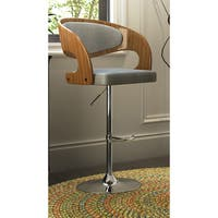 Carson Carrington Visby Adjustable Barstool with Swivel