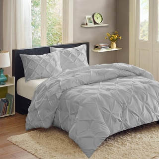 Luxury 3 Piece Pinch Pleat Duvet Set