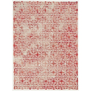 Grand Bazaar Marengo Pomegranate Wool Tufted Rug (9'6 x 13'6)