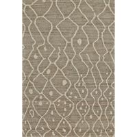 "Grand Bazaar Hasani Natural / Gray Area Rug - 9'6"" x 13'6"""