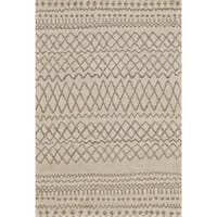 "Grand Bazaar Hasani Natural/ Ivory Area Rug - 9'6"" x 13'6"""