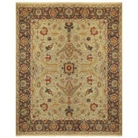 "Grand Bazaar Albemarle Gold/ Brown Area Rug - 9'6"" x 13'6"""