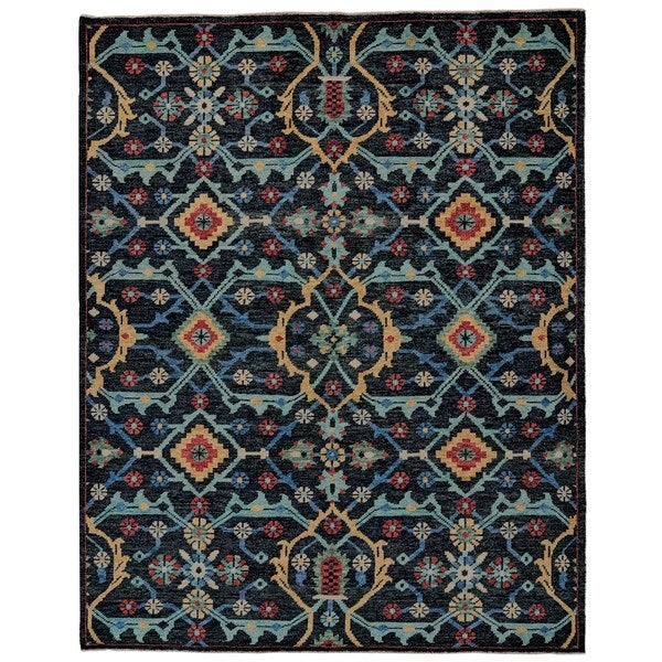 Shop Grand Bazaar Bashyr Blue Area Rug 8 6 X 11 6 8 6 X 11 6