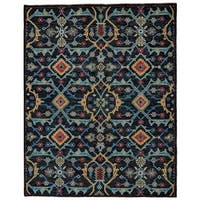 "Grand Bazaar Bashyr Blue Area Rug (8'6"" x 11'6"") - 8'6 x 11'6"