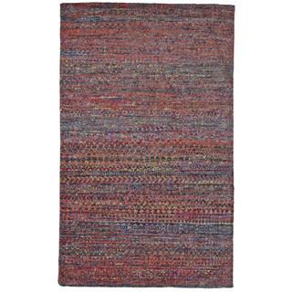 Grand Bazaar Samarra Cherry Hand-knotted Rug (8'6 x 11'6)