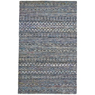 Grand Bazaar Samarra Thundercloud Hand-knotted Rug (8'6x11'6)