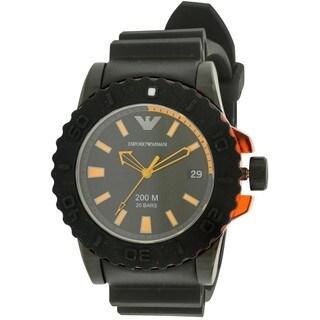 Emporio Armani Men's AR5969 Rubber Watch