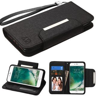 Insten Stand Folio Flip Leather Wallet Flap Pouch Case Cover For Apple iPhone 7