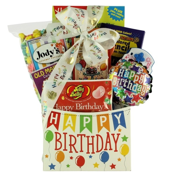 Shop Happy Birthday Wishes Kids Gift Basket