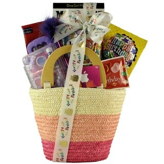 Fabulous Me: Kid's Birthday Basket for Girls Ages 9 to 12