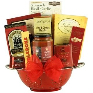Italian Romance Anniversary Gift Basket