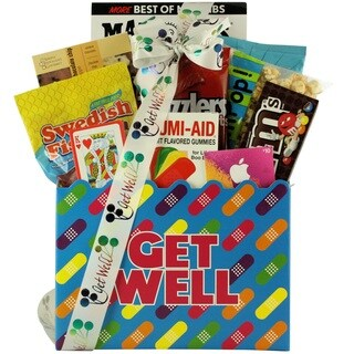 Humor and Tunes: Teen Get Well Gift Basket for Boys or Girls Ages 13 and Up