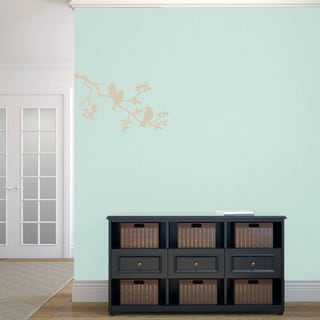 Birds on a Branch 24 x 15 Wall Decal