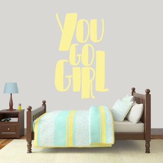 You Go Girl 30 x 48 Wall Decal