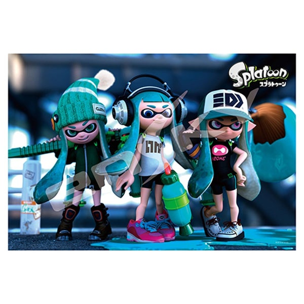 Nintendo Splatoon Girls Jigsaw Puzzle