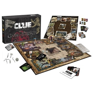 USAopoly Clue Game of Thrones Board Game