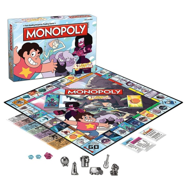 USAopoly Monopoly Steven Universe Board Game
