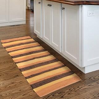 Windsor Home Chindi Stripe Accent Area Rug - 2x5