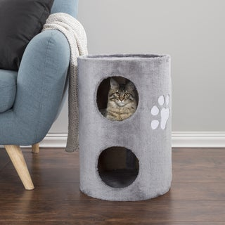 PETMAKER 2-Story Double Entry Cat Condo