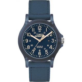 Timex Unisex TW4B09600 Expedition Acadia Blue Nylon Mid-size Strap Watch (Option: Blue)|https://ak1.ostkcdn.com/images/products/14426059/P20992888.jpg?impolicy=medium