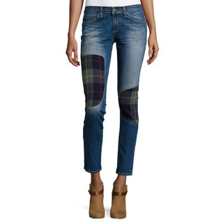 Rag & Bone Women's Dre Low-rise Patchwork Jeans