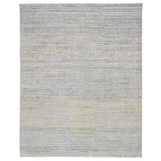 Fine Rug Collection Handmade Fine Oushak Turkish Knot Multi-Colored Wool Oriental Rug (8'3 x 10'3)