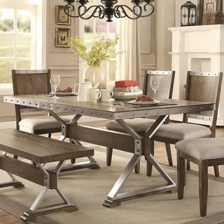 Wine Barrel Industrial Design Dining Table