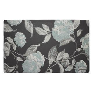 Laura Ashley Hydrangea Anti-Fatigue Gelness Kitchen Mat (20 x 32 in.)