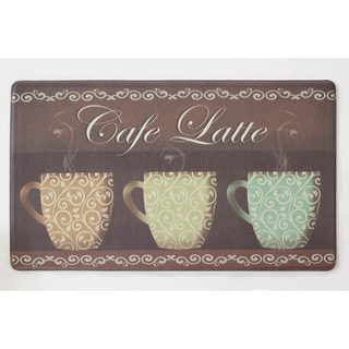 Chef Gear Café Latte Anti-fatigue Gelness Kitchen Mat (20 x 32 in.)