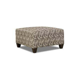 Simmons Upholstery Basta Pumice Cocktail Ottoman