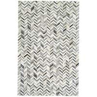 Grand Bazaar Zenna Slate Area Rug (9' x 12') - 9' x 12'