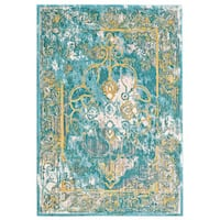 Grand Bazaar Arsene Lagoon Area Rug - 10' x 14'